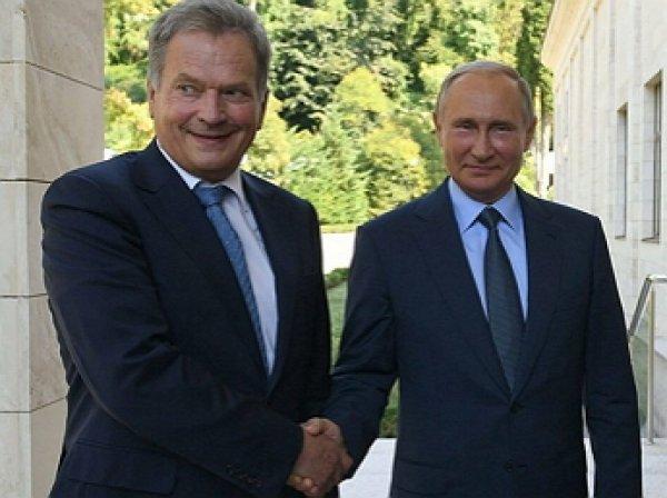 Путин в Хельсинки назвал причину протестных акций в Москве