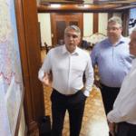 Рабочая поездка Павла Колобкова в Ставропольский край