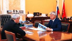 Рабочая встреча Павла Колобкова с губернатором Магаданской области Сергеем Носовым