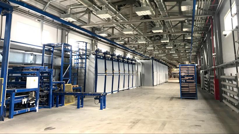 Реконструкцию производственного корпуса завода завершили в Ступине