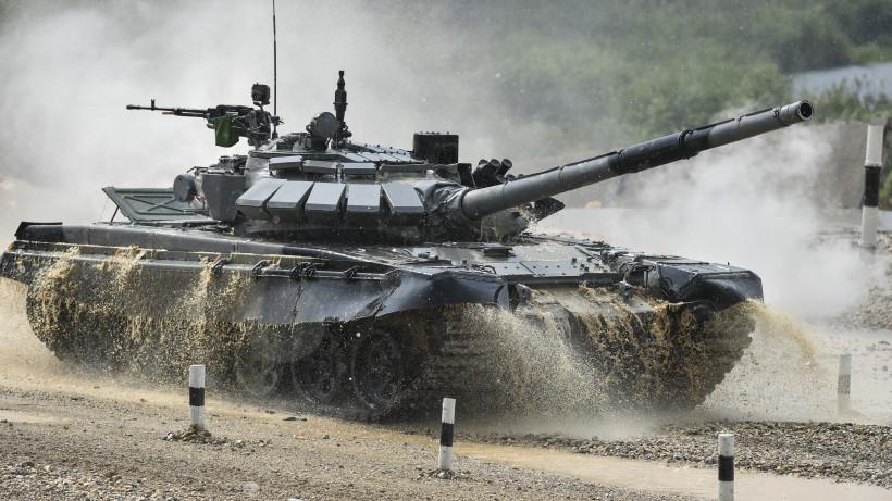 Сборная России по танковому биатлону побила рекорд на АрМИ-2019 в Подмосковье