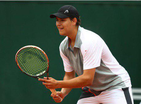 Серебряная медаль на международных соревнованиях по теннису