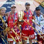 Серебро чемпионата Европы по пляжному волейболу