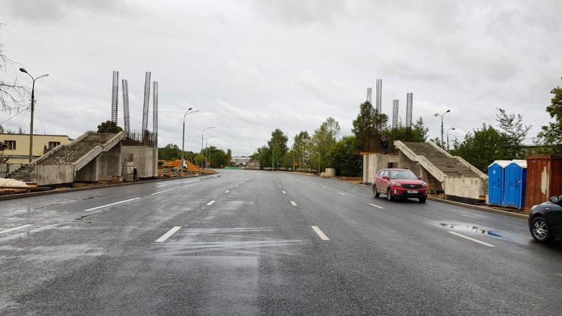 Схему движения для автотранспорта изменили у терминала В в Шереметьеве