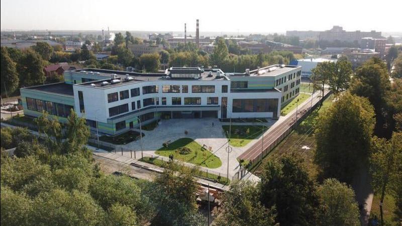 Школу на 275 мест построили в микрорайоне Северный Домодедова