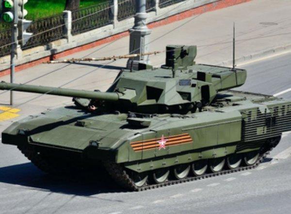 СМИ: российский танк Т-14 «Армата» оказался небоеспособным