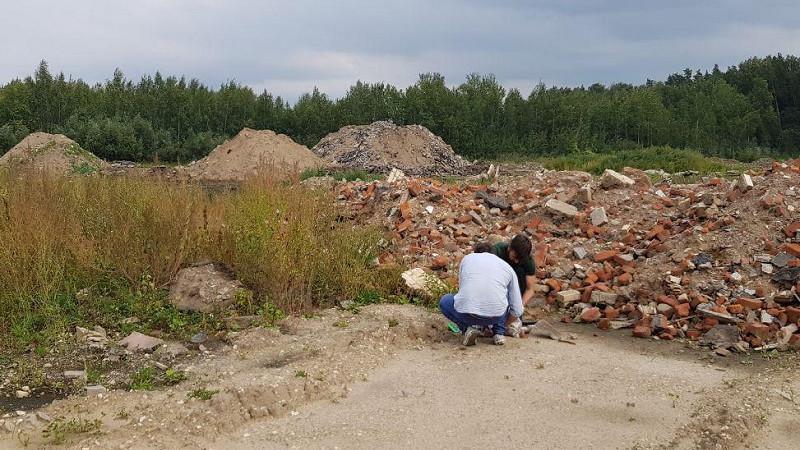 Сотрудники Минэкологии пресекли организацию незаконной свалки в Балашихе