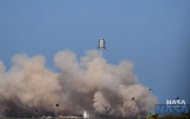SpaceX провела испытания марсолета Starhopper