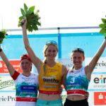Стефания Надымова завоевала очередную медаль гран-при по лыжному двоеборью