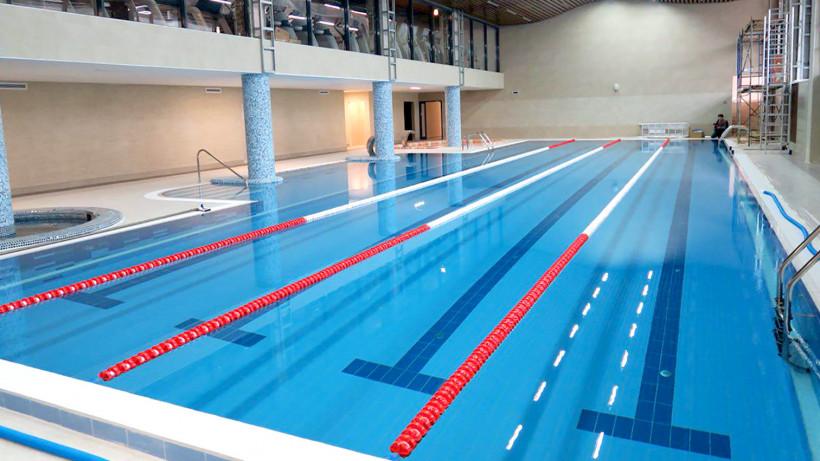 Строительство физкультурного комплекса с бассейном стартовало в Серпухове