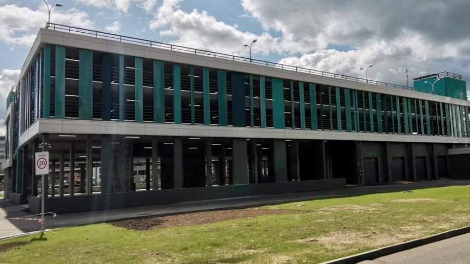 Строительство паркинга завершили на территории ЖК «Отрадный» в Мытищах