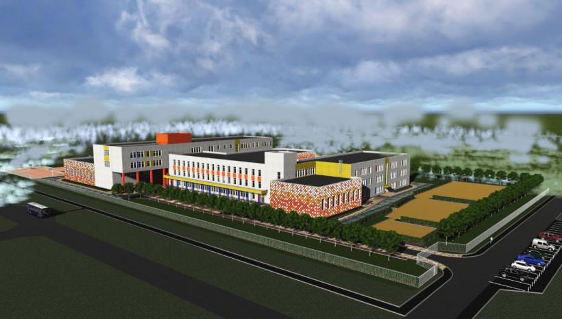 Строительство школы на 1,1 тысячи мест стартовало в Павловском Посаде