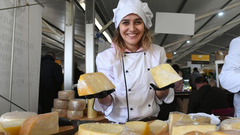 Всероссийский фестиваль фермерской продукции «Сыр. Пир. Мир» открылся в Подмосковье