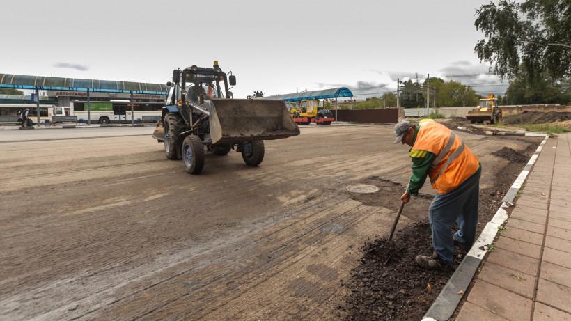Территорию автовокзала в Солнечногорске благоустроят до конца сентября