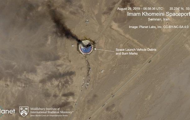 В Иране взорвалась ракета на космодроме
