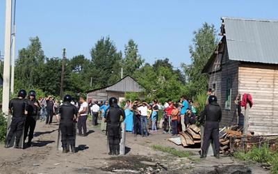 В Кузбассе задержан подозреваемый участник массовой драки с цыганами