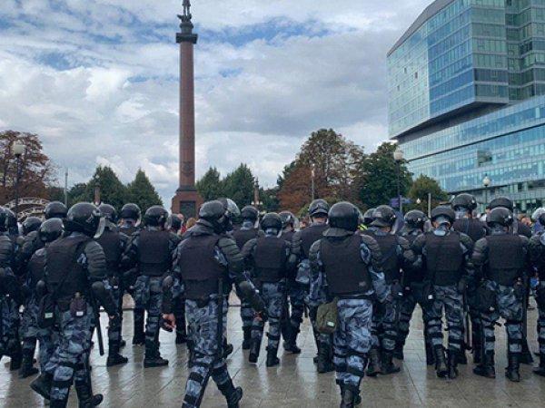 В Москве прошли массовые задержания участников акции протеста