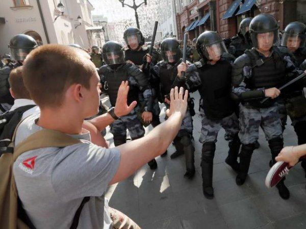 В Москве закрываются организации из-за акций протеста 3 августа
