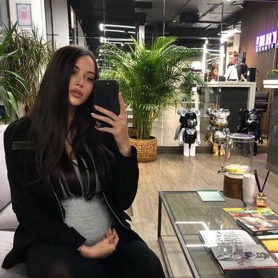 """Возлюбленная Тимати обнародовала свежие """"беременные фото"""""""