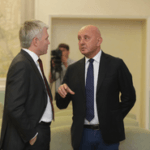 Встреча Павла Колобкова и президента Международной федерации бобслея и скелетона Иво Ферриани