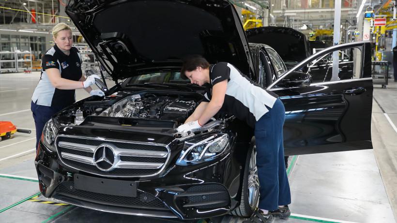 Завод Mercedes-Benz в Подмосковье трудоустроит еще 400 человек