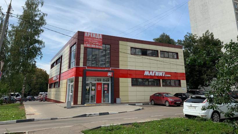Здание магазина достроили в Наро-Фоминске