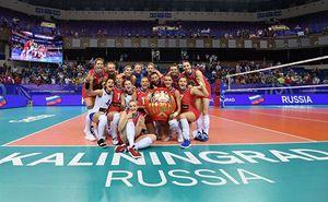 Женская сборная России по волейболу завоевала лицензию на Игры XXXII Олимпиады в Токио