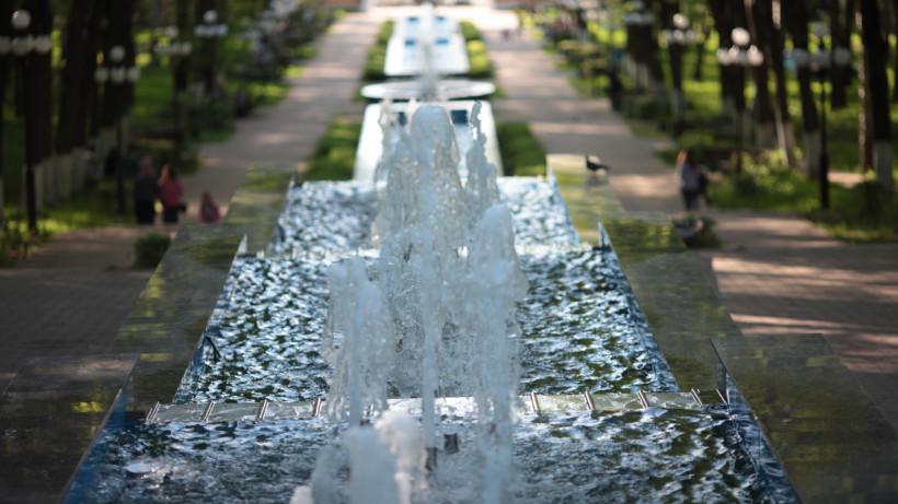 Жителям Московской области рассказали, как ремонтируют и чистят фонтаны