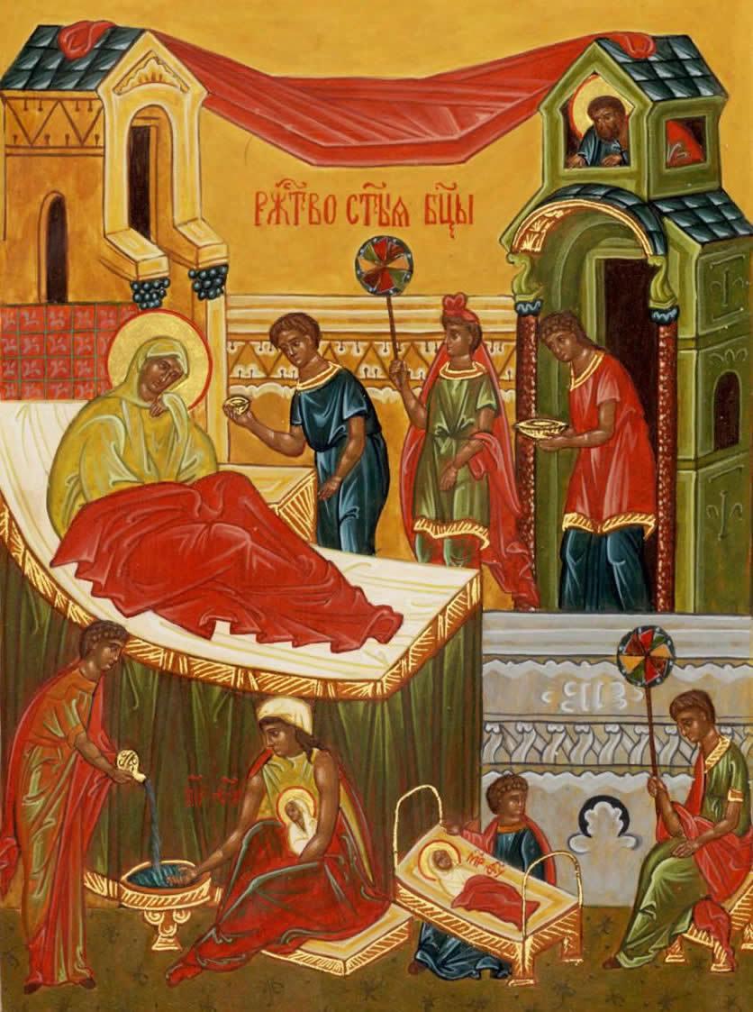 21 сентября 2019 года отмечается Рождество Пресвятой Богородицы (Осенины)