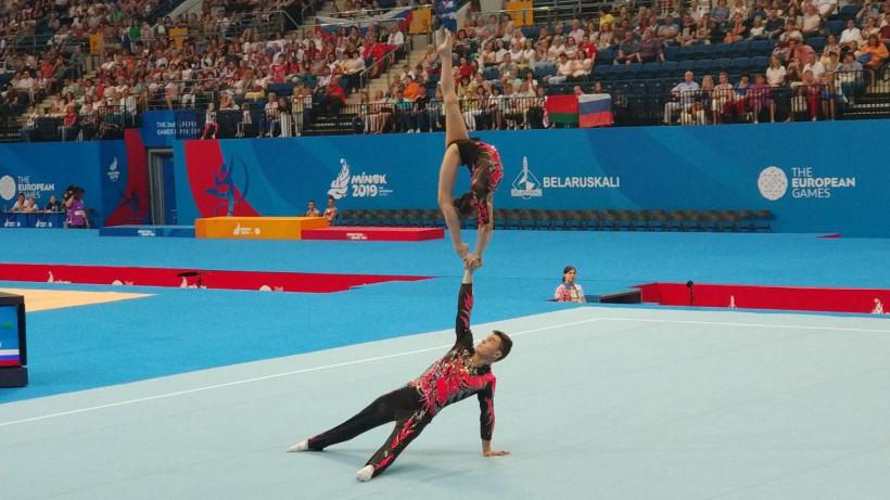 Акробаты из Подмосковья завоевали три медали на этапе Кубка мира