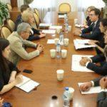 Алла Манилова пригласила мэра Флоренции на VIII Санкт-Петербургский международный культурный форум