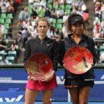 Анастасия Павлюченкова стала второй на Открытом чемпионате Японии