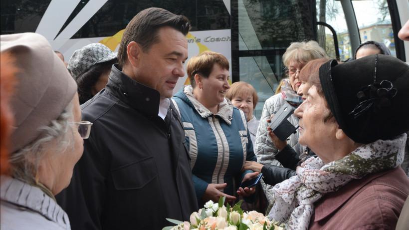 Андрей Воробьев посетил с рабочим визитом городской округ Химки