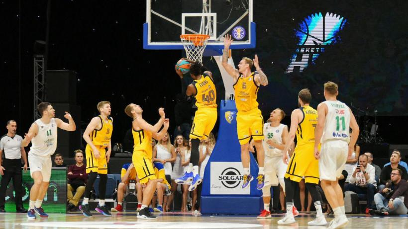 Баскетбольные «Химки» стартовали с победы в Единой лиге ВТБ