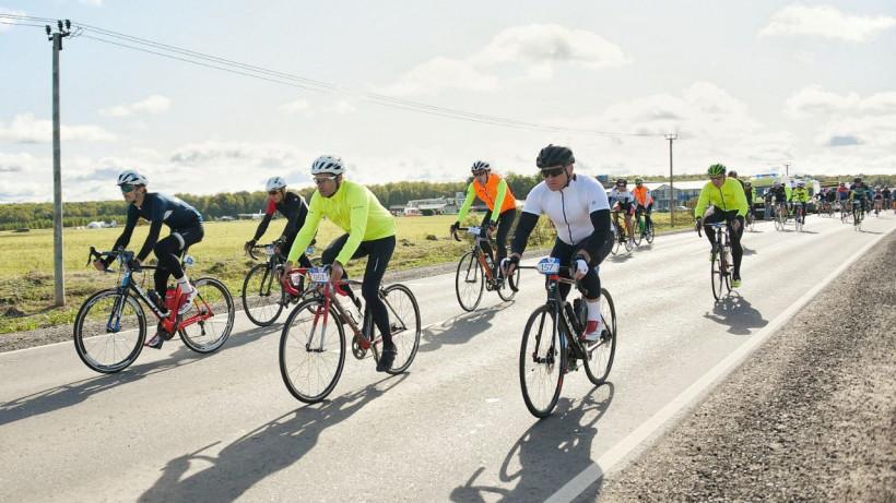 Более 1,5 тыс. велосипедистов вышли на старт велозаезда Gran Fondo в Серпухове