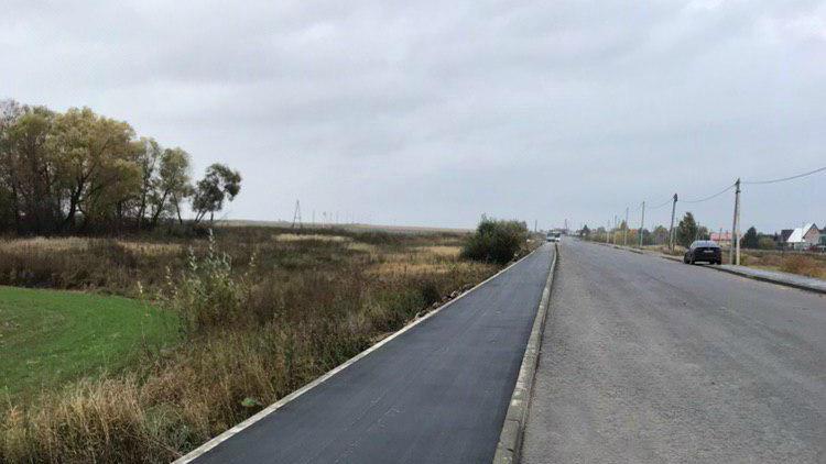 Более 190 км новых тротуаров построили вдоль региональных дорог Подмосковья