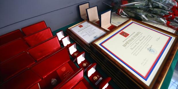 Церемония награждения государственными и ведомственными наградами Минкультуры России