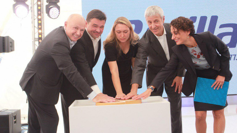 Губернатор открыл новые производственные линии на заводе «Барилла» в Солнечногорске