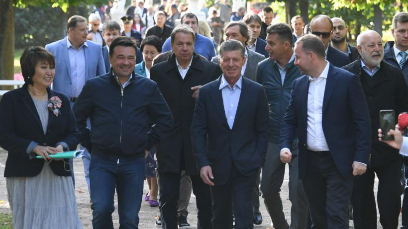 Губернатор принял участие в празднике в честь столетнего юбилея музея-усадьбы «Архангельское»