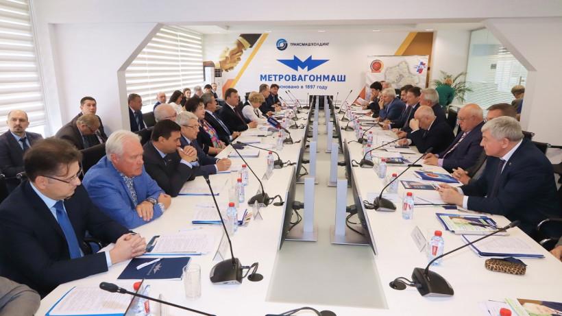 Хромов принял участие в заседании правления Союза промышленников и предпринимателей региона