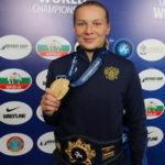 Инна Тражукова – чемпионка мира по борьбе в категории до 65 кг, Любовь Овчарова (до 59 кг) – серебряный призёр