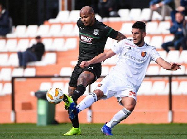 «Краснодар» потерпел разгромное поражение в матче с «Базелем» со счетом 0:5