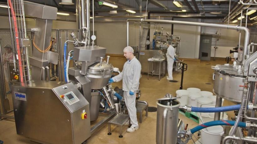 Линию по производству творога запустят на заводе в Серебряных Прудах в ноябре