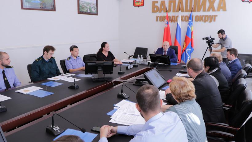 Методы борьбы с самовольным строительством обсудили в Балашихе
