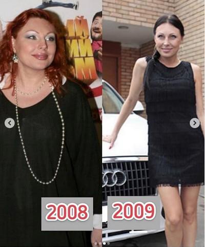 Наталья Бочкарева призналась, как ей удалось похудеть на 60 килограмма
