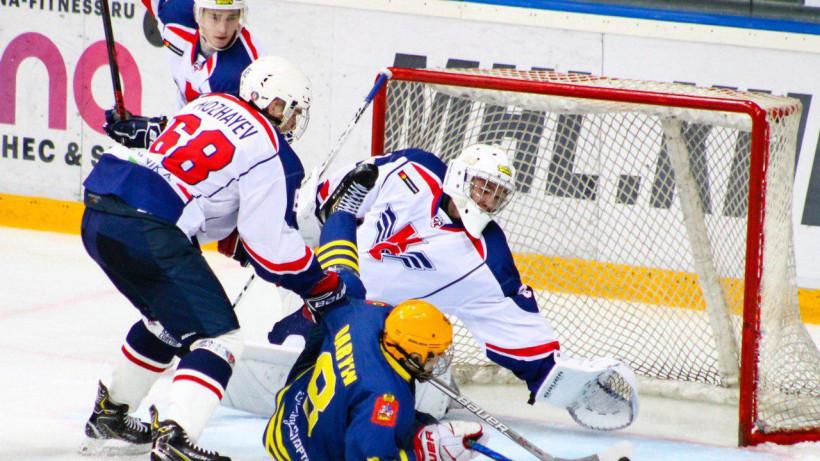 Новый хоккейный сезон стартовал в Подмосковье