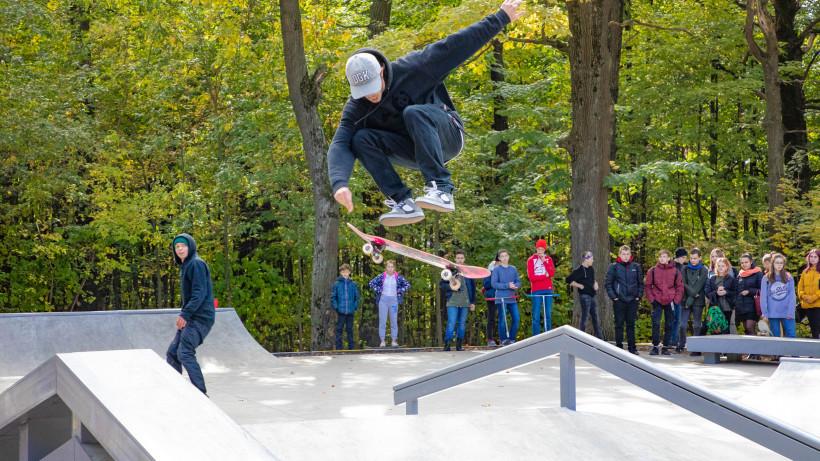 Новый скейт-парк открылся в Лыткарине