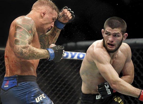 Нурмагомедов защитил титул чемпиона UFC, победив американца Порье