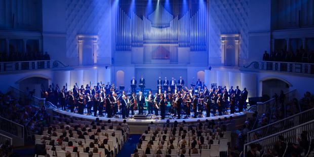 Открытие виртуального концертного зала в Томской области (г. Стрежевой)