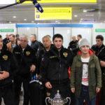 Подмосковные борцы в составе сборной России вернулись с чемпионата мира